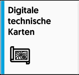 Digitale technische Karten